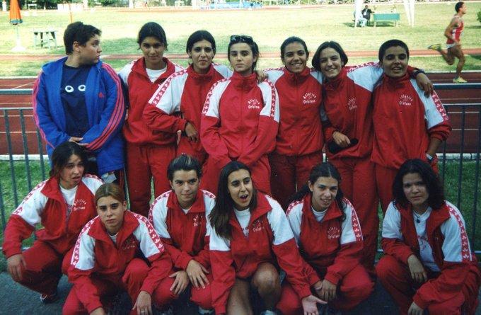Atletica Oristano · Benevento 1999
