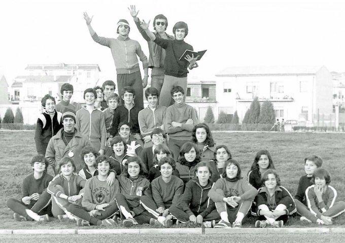 Atletica Oristano · fine anni settanta
