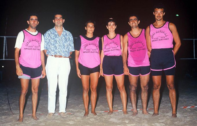 Beach Volley 4×4 misto · anni 90