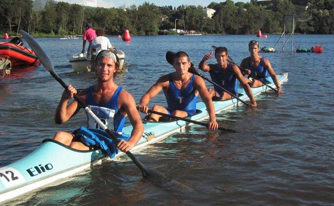 Nazionale Italiana Canoa Kayak · Pontevedra 2003