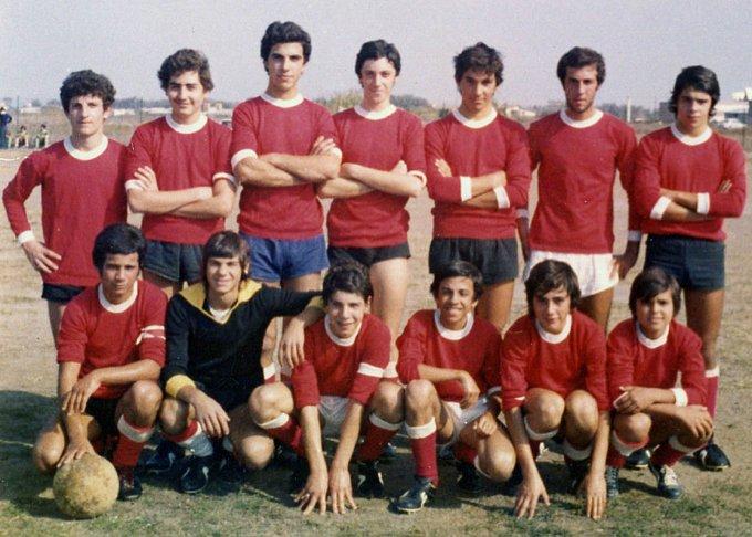 Città di Oristano 1974 campioni provinciali