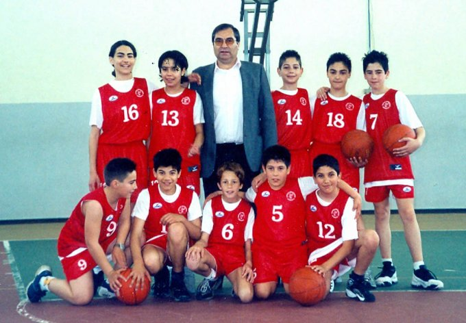 Centro Mini Basket Marrubiu · Esordienti 2002
