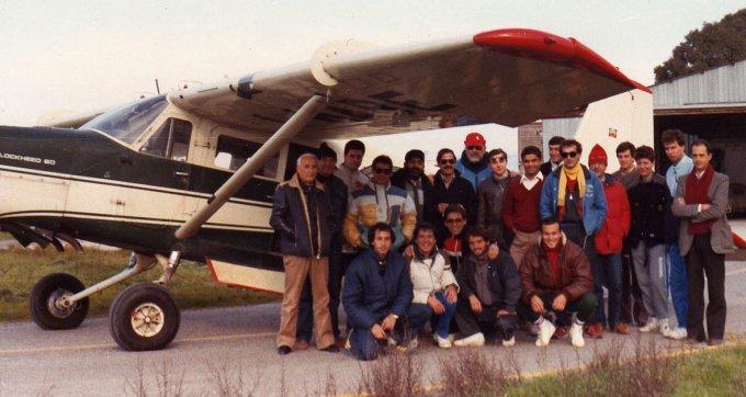 AeroClub Oristano · Paracadutismo 1984