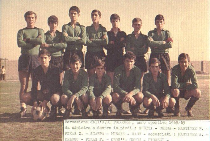 Folgore Calcio · Oristano 1968