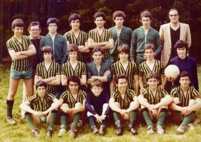 Folgore Calcio · Oristano fine anni settanta