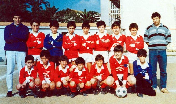 Frassinetti Calcio Giovanissimi · Oristano 1987