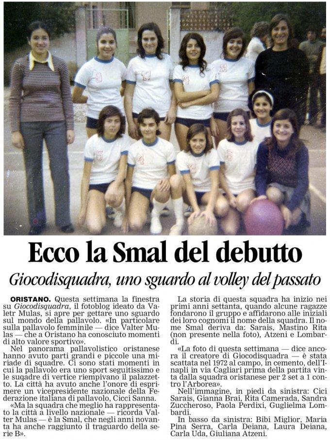 La Nuova Sardegna · 25 gennaio 2008