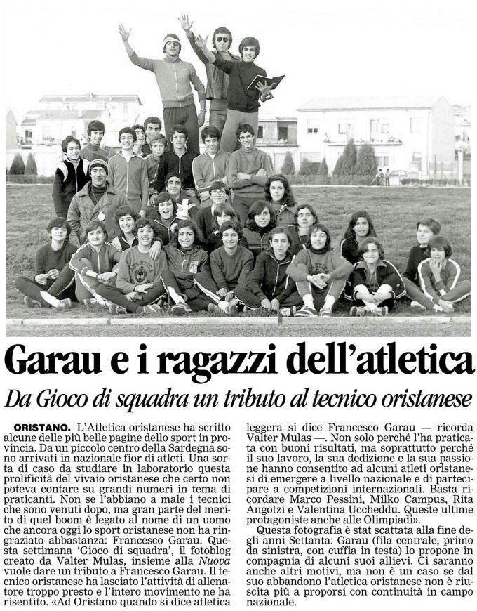 La Nuova Sardegna · 4 gennaio 2008