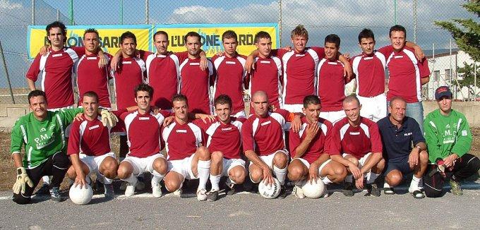 Polisportiva Marrubiu Calcio · 2004