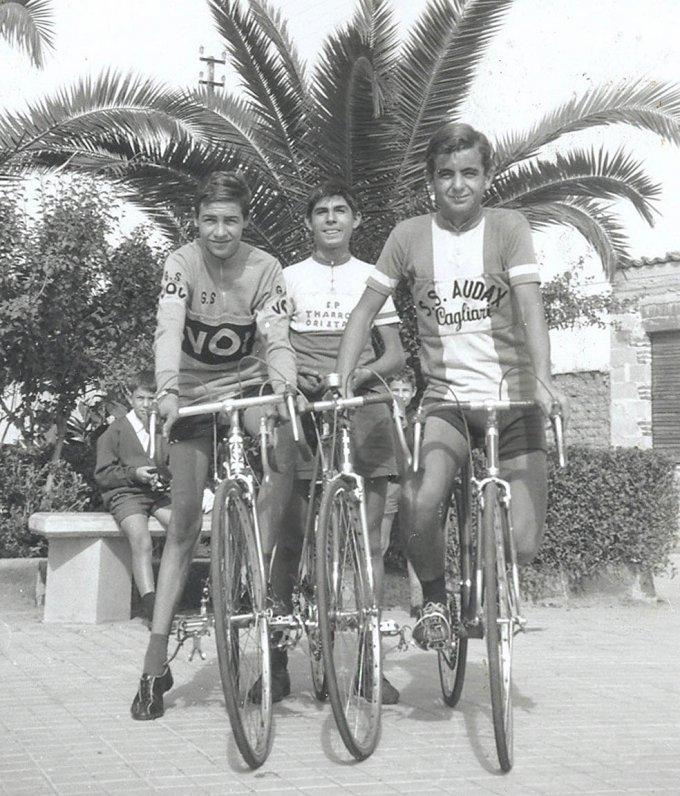 Ciclisti Oristanesi · anni settanta