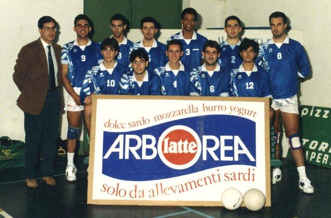 San Domenico Pallavolo · Oristano 1995