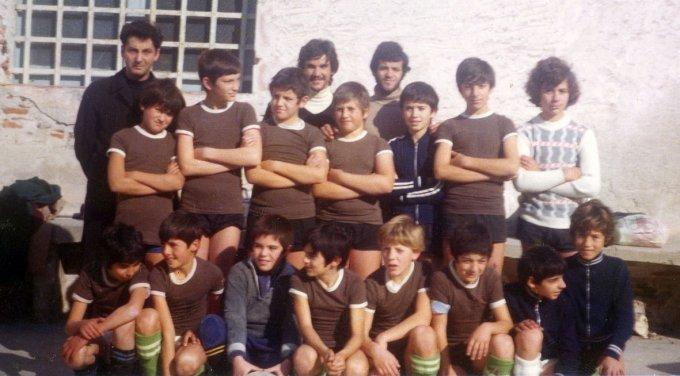San Domenico Calcio · Oristano primi anni '70