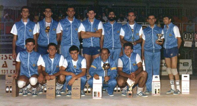San Domenico Pallavolo · Oristano 1985