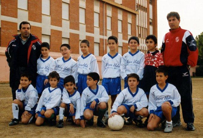 San Paolo Calcio Pulcini · Oristano 2002