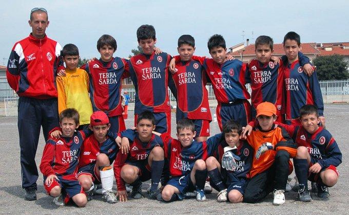 San Paolo Calcio Pulcini · Oristano 2007