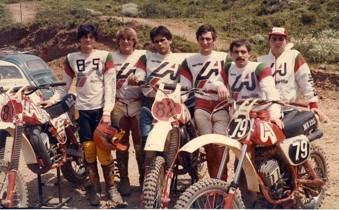 Team Valentino Piras Oristano · Gonnesa 1980