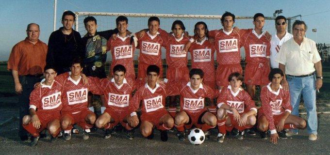 Tharros Calcio Allievi · Oristano 1996