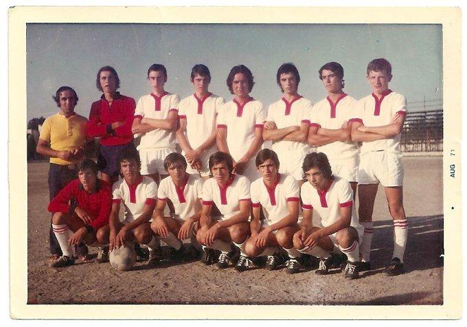 Tharros Calcio · Oristano anni settanta