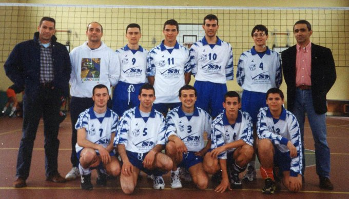 Volley Birds Pallavolo · Oristano 1999