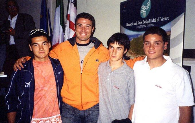 Gianluca Porta, Antonio Rossi, Gianmarco Spanu, Luca Orrù
