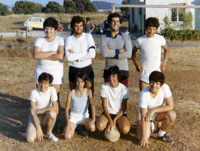 Antoppe Calcio a otto · Laconi 1974
