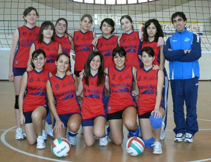 Ariete Pallavolo Oristano · Prima Divisione 2008