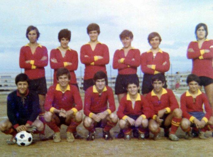 Aristana Calcio · Oristano anni settanta