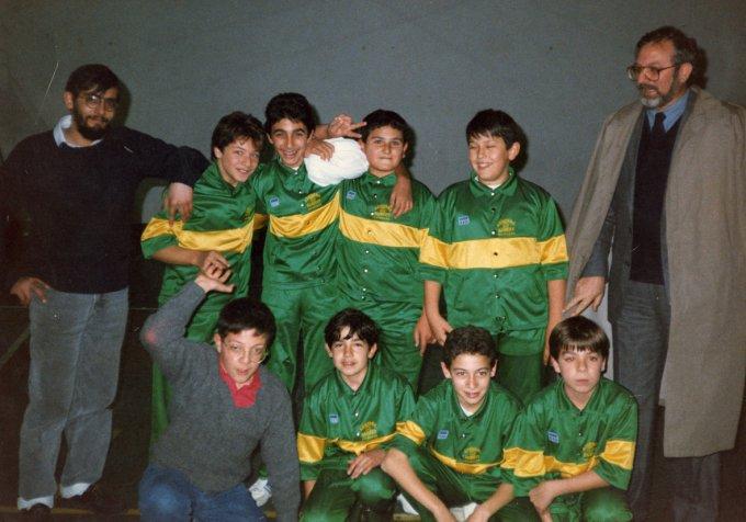 Azzurra Basket Allievi · Oristano anni ottanta