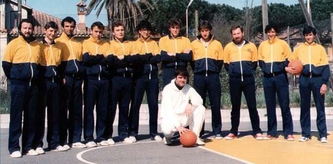 Basket Arborea · anni ottanta