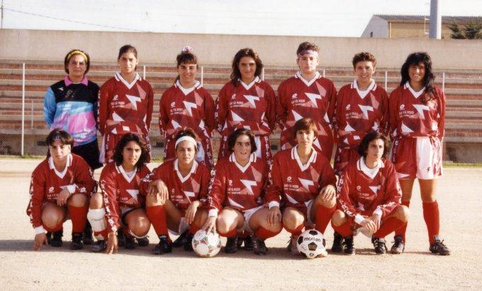 Cicos Calcio Femminile · Cabras 1992