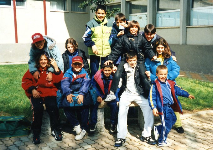 Eleonora Nuoto · Oristano anni novanta