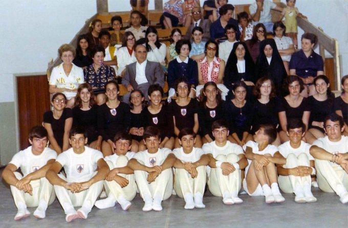 G.S. De Castro Oristano e il pubblico 1970