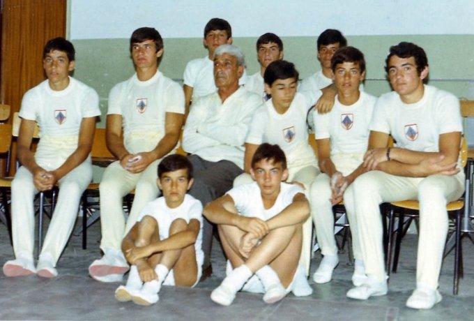 G.S. De Castro Oristano - Saggio Ginnico 1970