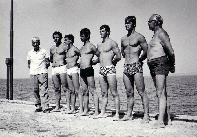 G.S. De Castro al Pontile 1970