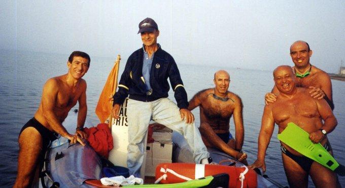Traversata del golfo di Oristano · Torre Grande 2002
