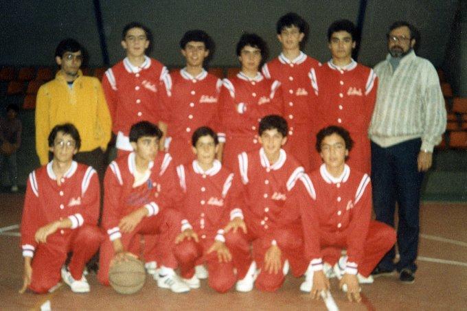 Libertas Oristanese Cadetti · Assisi 1985