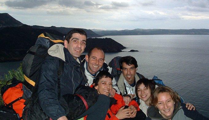 Arrampicata sportiva in Sardegna · Masua 2003