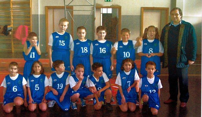 Centro Mini Basket Marrubiu · 2003
