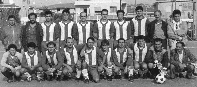 San Nicola Calcio · Oristano anni ottanta
