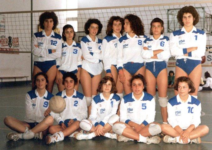 SMAL Pallavolo Under 16 · Oristano 1986