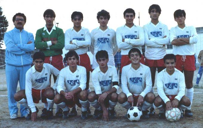Tharros Under 20 · Oristano 1984