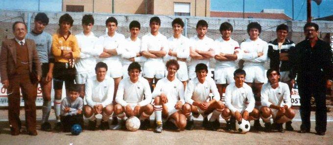 Tharros Under 20 · Cabras 1983
