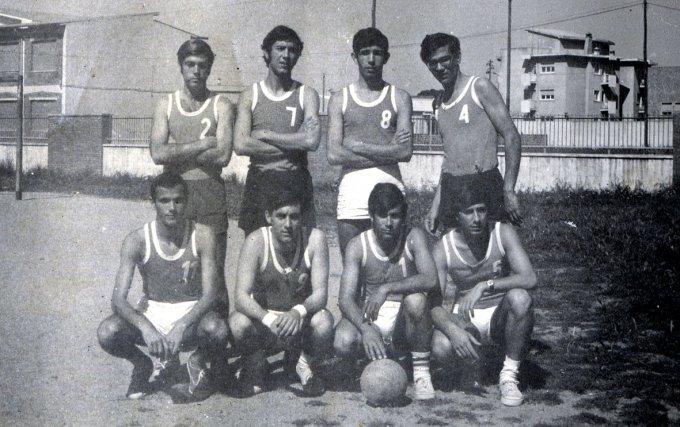 Pallavolo ad Oristano fine anni sessanta