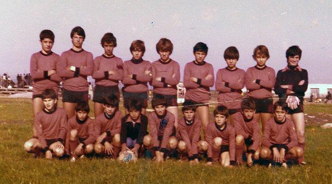 Amsicora Calcio Allievi · Oristano anni settanta