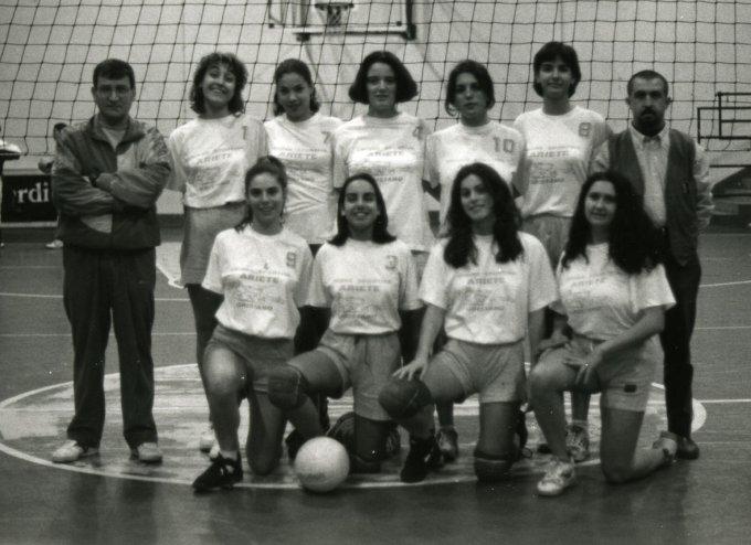 Ariete Pallavolo Femminile · Oristano anni novanta