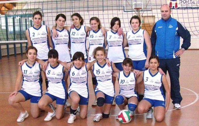 Ariete Pallavolo Under 14 · Oristano 2008
