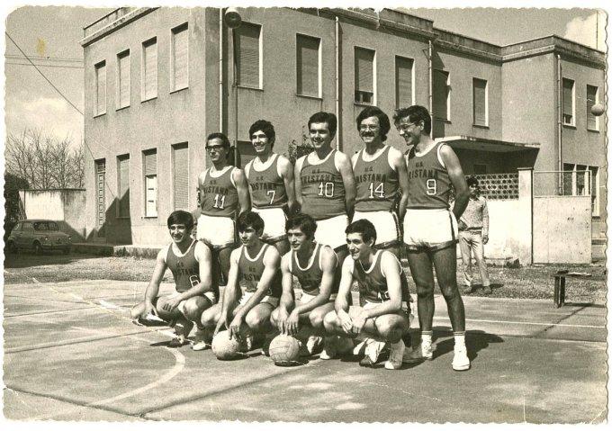 Aristana Pallavolo Maschile · Oristano 1970
