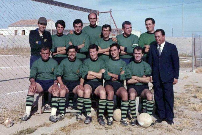Assicurazioni Generali Calcio · Oristano fine anni sessanta