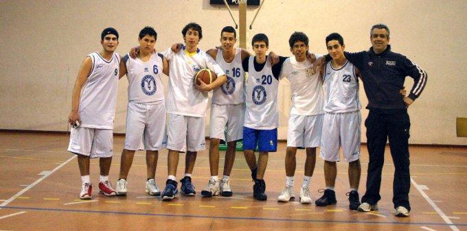 Azzurra Basket Under 17 · Oristano 2007