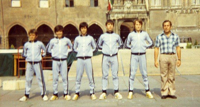 G.S. De Castro Oristano · Bologna 1976